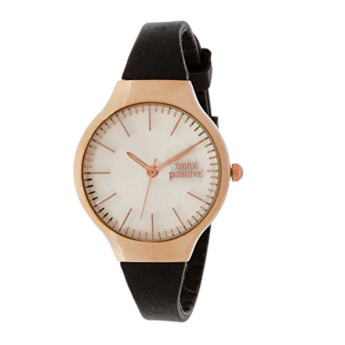 ladies-think-positiver-modell-se-w31-rose-classic-stahlband-aus-silikon-farbe-braun