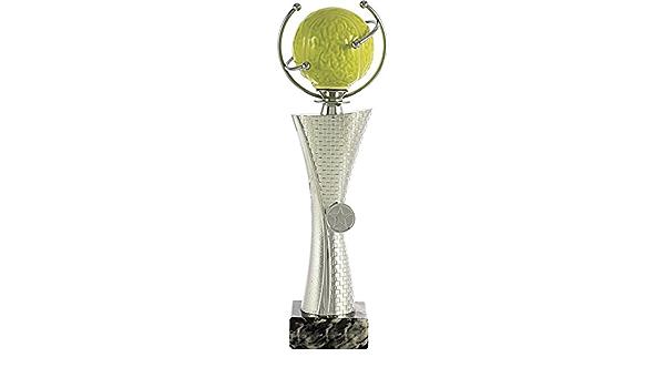 Taglia Unica PALLART 7101/ Argento /3/Trofeo Sportivo con Motivo Supporti Onda Bagnato 29/cm