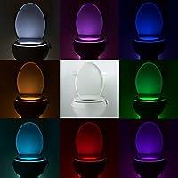 Wc Beleuchtung Mit Bewegungsmelder Led Toilette Licht Wc Lampe Mit