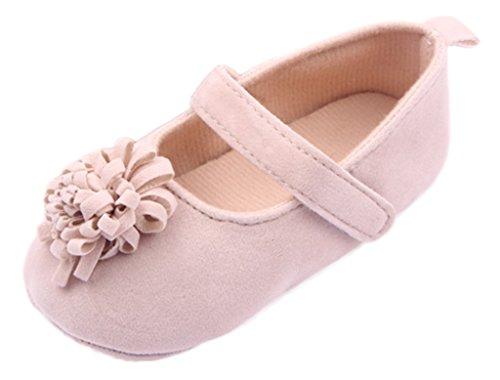 Bigood Liebe Blüte Ballet Stil Baby Mädchen Schuh Lauflernschuhe Krabbelschuhe Khaki
