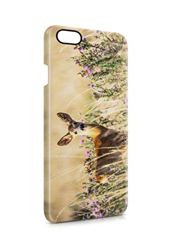 aina 3D iPhone 6 6s REH Tier SILIKON Flipcase Tasche Flip Hülle Case Cover Schutz Handy (Schildkröte Case Iphone6)