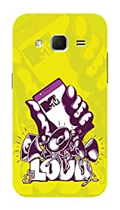 MTV Gone Case Mobile Cover for Samsung Galaxy Core prime