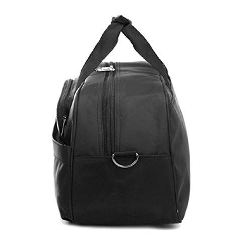 LAIDAYE Große Kapazität Gepäcktasche Reisetaschen Sporttasche Fitnesstasche Große Kapazität Handtasche Red