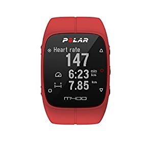 Polar M400 GPS-Laufuhr, red, 90061177