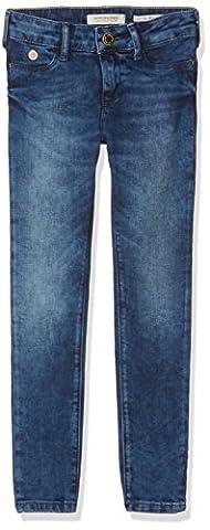 Scotch & Soda R´Belle la Milou-Oempa Blue, Jeans Fille, Bleu (Oempa Blue 18), 128 (Taille Fabricant: 8)