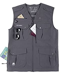 Gilet multipoches homme CIMALP AYERS