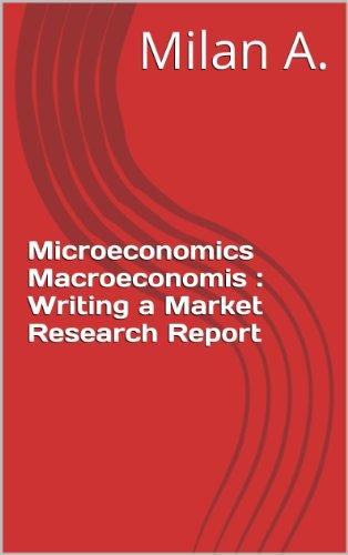 microeconomics report