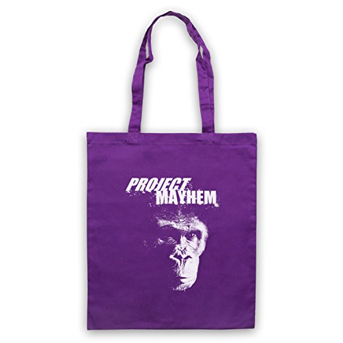 Inspiriert durch Fight Club Project Mayhem Inoffiziell Umhangetaschen Violett