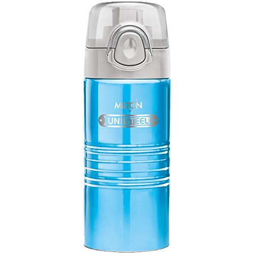 Milton Vogue 500 Stainless Steel Water Bottle, 500ml, Blue