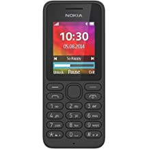 "Nokia 130 - Teléfono móvil de 1.8"" (Bluetooth, Dual Sim, 4 MB de RAM), negro"