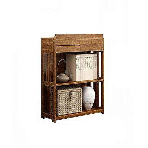 Bibliothèque Sexy Amovible en Bois Massif 2/3/4-tier Retrait Retro Free Combination Shelf (Taille : 70 * 28 * 79cm)