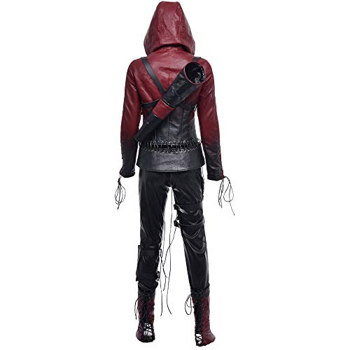 Arrow (Saison 4) - Thea Female Cosplay Kostüm - Willa Holland - Rot - Large