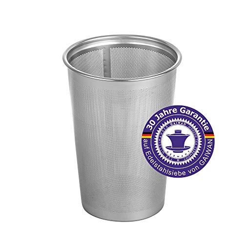 GAIWAN SP500: Teefilter für losen Tee, feines Teesieb aus Edelstahl, Dauerfilter, 30 Jahre Herstellergarantie Finum Tea Brewing Basket