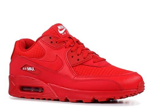 Nike Herren Air Max 90 Essential Gymnastikschuhe, Rot (Univ Red/White 602), 46 EU - Air Max 90 Air