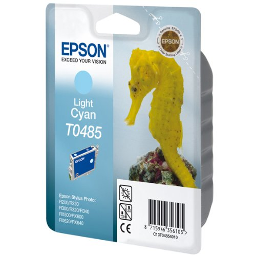 1 Original Printer Ink Cartridge for Epson Stylus Photo RX300 - Light Cyan