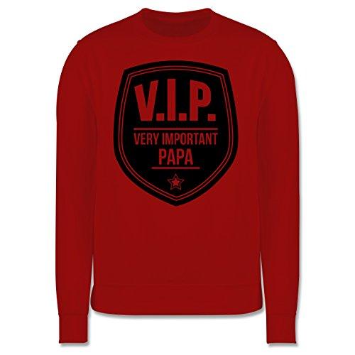 Vatertag - V.I.P. - Very important Papa - Herren Premium Pullover Rot