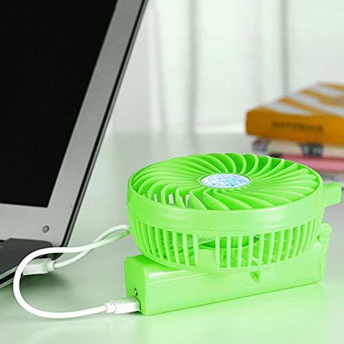 fghfhfgjdfj Portable Hand Fan USB Rechargeable Foldable Handheld Mini Fan Cooler 3 Speed Adjustable Cooling Fan for Outdoor Travel