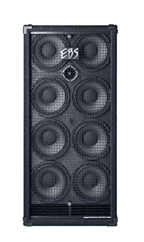 EBS EBSNEO810 NeoLine Boxen (2000 Watt RMS, 8 x 10 Zoll Neodymium und 2 Zoll Titanium)
