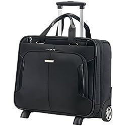 """SAMSONITE Business Case/WH 15.6"""" (Black) -XBR Mallette Ordinateur à roulettes, 46 cm, Noir"""