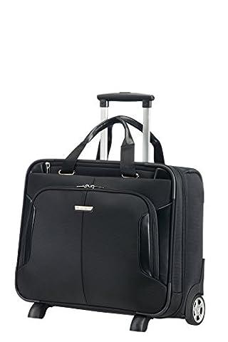 Samsonite XBR Business Case à Roulettes 15,6 Pouces Mallette Pilote, 46 cm, 27,5 L, Noir
