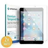smartect Mattes Panzerglas für ipad Mini 4 / Mini 5 [2X MATT] - Bildschirmschutz mit 9H Härte - Blasenfreie Schutzfolie - Anti Fingerprint Panzerglasfolie