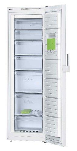 Bosch GSN 36CW32 Autonome Droit 237L A++ Blanc congélateur - Congélateurs (Droit, 237 L, 20 kg/24h, Système anti-gel, A++, Blanc)
