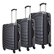 23f1f70cf5 Toctoto Set di valigie Leggera Valigetta con guscio rigido Shell 3 Piece  (20