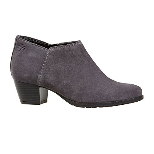 Van Dal Shoes Womens Butler Boots in Grey Suede