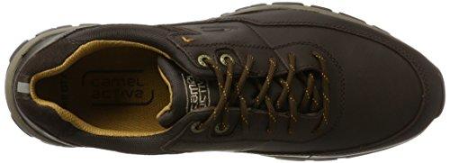 camel active Herren Hill GTX 11 Sneaker Braun (Mocca)