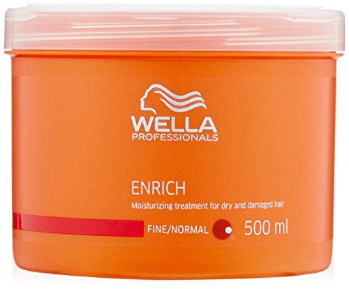 Wella Enrich Moisturizing Treatment For Dry & Damaged Hair (Fine/Normal) 500ml