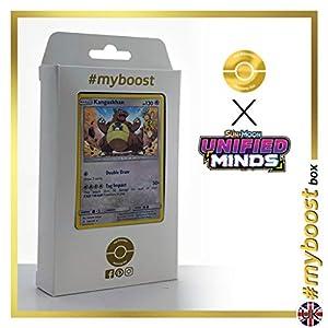 Kangaskhan 163/236 Holo - #myboost X Sun & Moon 11 Unified Minds - Box de 10 cartas Pokémon Inglesas