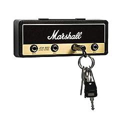 Idea Regalo - P Pluginz Marshall JCM800 standard Jack Rack V2.0- Parete Guitar Amp Portachiavi Include 4 chitarra Plug portachiavi e Kit di montaggio a parete