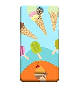 99sublimation Ice Cream for kids Designer Back Case Cover for Coolpad Mega2.5D
