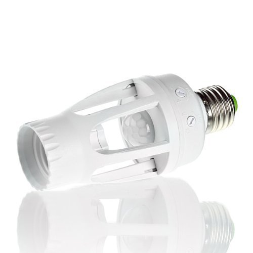 sweet LED Lampenfassung mit 360°-PIR-Bewegungssensor, E27