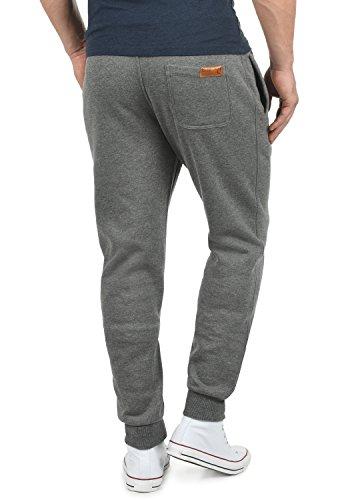 SOLID TripPant Herren Jogginghose Sweatpants Sporthose mit Tunnelzug aus hochwertiger Baumwollmischung Slim Fit Meliert Grey Melange (8236)