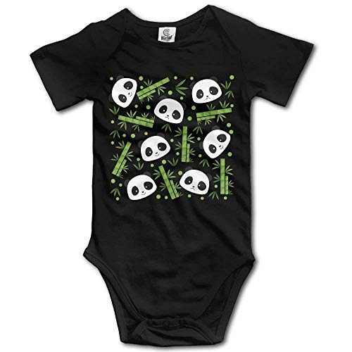 xcvgcxcvasda Strampelanzug Overall für Kinder Toddler Bodysuit Bamboo Panda Infant Onesie Jumpsuit Cotton Comfortable Cute Pattern Texas Cookie Cutter