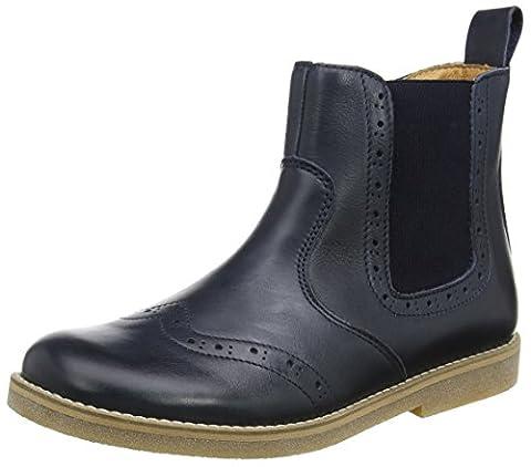 Froddo Unisex-Kinder G3160064 Chelsea Boots, Blau (Dark Blue I17), 37 EU (Chelsea Girls Schuhe)