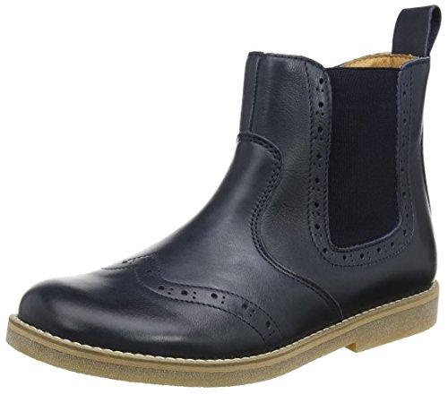 Froddo Unisex-Kinder G3160064 Chelsea Boots, Blau (Dark Blue I17), 24 EU (Boot Mädchen)
