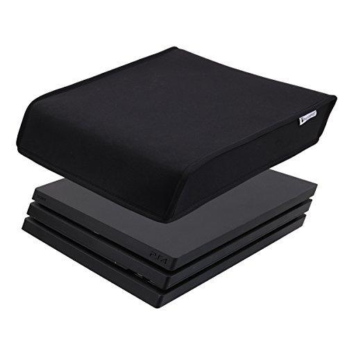 Pandaren® Staub Beweis Neoprene Cover Abdeckung für Sony PS4 PRO Konsole Horizontal Ort (schwarz)