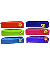 Prime Pencil Case Pouch Zipper Organizer For Boys And Girls, School Students And Kids, 25 Gram, Multi Color, Pack...