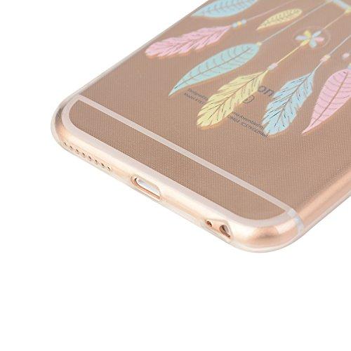 Etui Coque TPU Slim Bumper pour Apple iPhone 6 (4,7 pouces) Souple Housse de Protection Flexible Soft Case Cas Couverture Anti Choc Mince Légère Silicone Cover Bouchon -photo Frame Keychain #AY (11) 15
