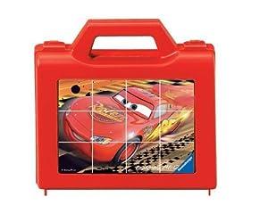 Ravensburger 07489 Disney Cars - Puzzle de cubos (12 piezas)