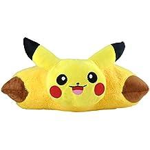 Katara 1750Pokémon Go puscheliges flojel Cojín de peluche/Peluche con como Idea de Regalo bonito Pikachu, XXL, 40cm, amarillo