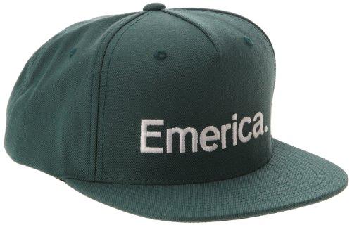 Emerica Herren Cap Pure Snapback, Dark Teal, One size, 6140000970