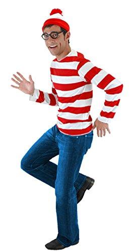 Where's Waldo Adult Costume XXXX-Large (Waldo Kostüm Zubehör)