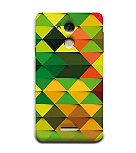 Colourful Pattern 3D Hard Polycarbonate Designer Back Case Cover for Coolpad Note 5