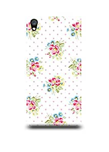 Oneplus X Cover,Oneplus X Case,Oneplus X Back Cover,Vintage Floral Pattern Oneplus X Mobile Cover By The Shopmetro-14949