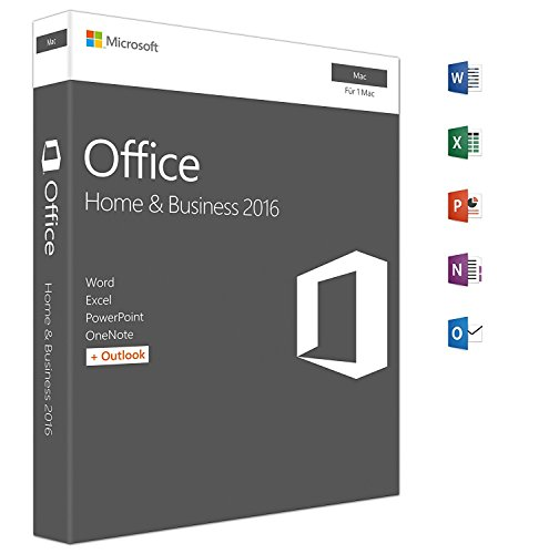 Microsoft Office für Mac 2016 [Download] Home and Business
