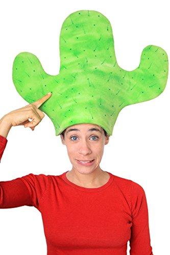 Sombrero de gomaespuma cactus
