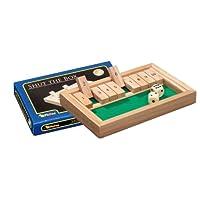 Philos-3129-Shut-The-Box-mini-Wrfelspiel-Klappenspiel Philos 3129 – Shut The Box, mini, Würfelspiel, Klappenspiel -